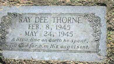 THORNE, RAY DEE - Caddo County, Louisiana | RAY DEE THORNE - Louisiana Gravestone Photos