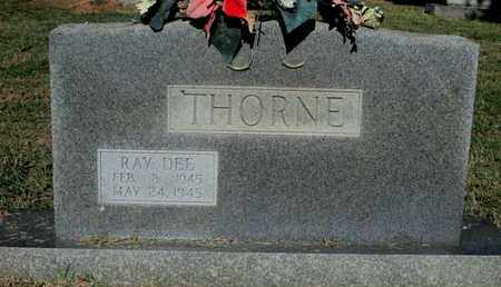 THORNE, RAY DEE SECOND STONE - Caddo County, Louisiana | RAY DEE SECOND STONE THORNE - Louisiana Gravestone Photos