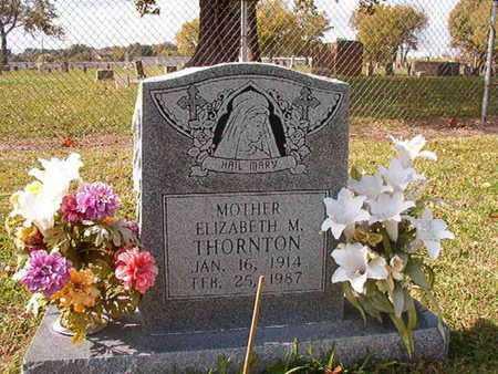 THORNTON, ELIZABETH M - Caddo County, Louisiana | ELIZABETH M THORNTON - Louisiana Gravestone Photos