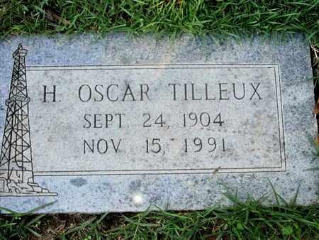 TILLEUX, H OSCAR - Caddo County, Louisiana | H OSCAR TILLEUX - Louisiana Gravestone Photos