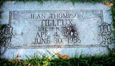 TILLEUX, JEAN - Caddo County, Louisiana   JEAN TILLEUX - Louisiana Gravestone Photos