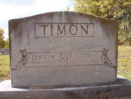 TIMON, LEWIS W - Caddo County, Louisiana | LEWIS W TIMON - Louisiana Gravestone Photos