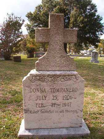 TOMPANERO, DONNA - Caddo County, Louisiana   DONNA TOMPANERO - Louisiana Gravestone Photos