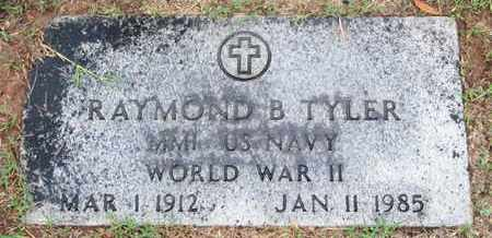 TYLER, RAYMOND B (VETERAN WWII) - Caddo County, Louisiana | RAYMOND B (VETERAN WWII) TYLER - Louisiana Gravestone Photos
