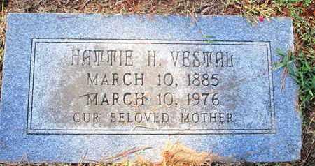 VESTAL, HATTIE H - Caddo County, Louisiana | HATTIE H VESTAL - Louisiana Gravestone Photos