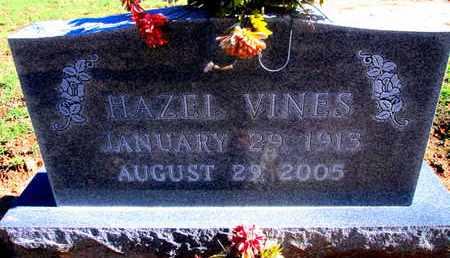 VINES, HAZEL - Caddo County, Louisiana | HAZEL VINES - Louisiana Gravestone Photos