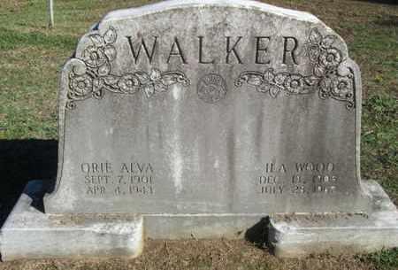 WALKER, ORIE ALVA - Caddo County, Louisiana | ORIE ALVA WALKER - Louisiana Gravestone Photos