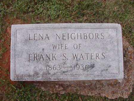 NEIGHBORS WATERS, LENA - Caddo County, Louisiana | LENA NEIGHBORS WATERS - Louisiana Gravestone Photos