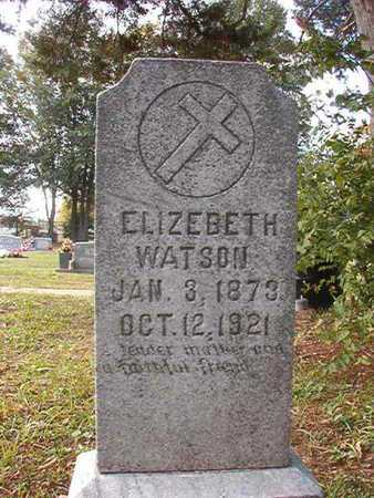 WATSON, ELIZEBETH - Caddo County, Louisiana | ELIZEBETH WATSON - Louisiana Gravestone Photos