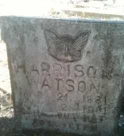 WATSON, HARRISON - Caddo County, Louisiana | HARRISON WATSON - Louisiana Gravestone Photos