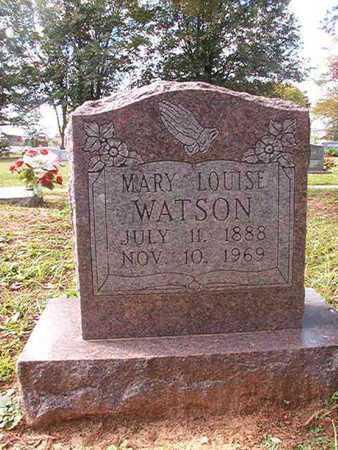 WATSON, MARY LOUISE - Caddo County, Louisiana | MARY LOUISE WATSON - Louisiana Gravestone Photos