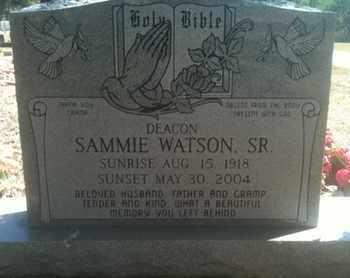 WATSON, SAMMIE, JR - Caddo County, Louisiana | SAMMIE, JR WATSON - Louisiana Gravestone Photos