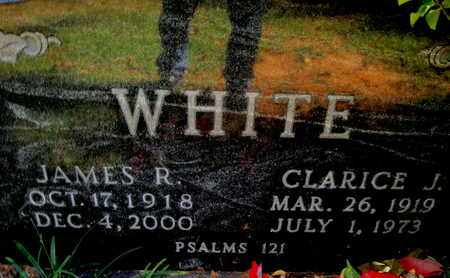 WHITE, JAMES R - Caddo County, Louisiana | JAMES R WHITE - Louisiana Gravestone Photos