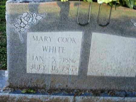 COOK WHITE, MARY - Caddo County, Louisiana | MARY COOK WHITE - Louisiana Gravestone Photos