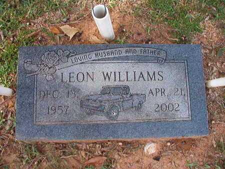 WILLIAMS, LEON - Caddo County, Louisiana | LEON WILLIAMS - Louisiana Gravestone Photos