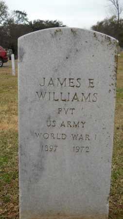 WILLIAMS, JAMES E (VETERAN WWI) - Caddo County, Louisiana   JAMES E (VETERAN WWI) WILLIAMS - Louisiana Gravestone Photos