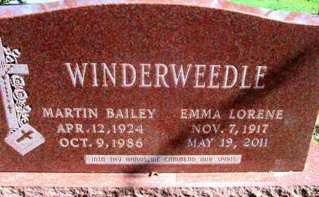 WINDERWEEDLE, MARTIN BAILEY - Caddo County, Louisiana | MARTIN BAILEY WINDERWEEDLE - Louisiana Gravestone Photos