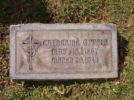WOLF, CATHARINE G - Caddo County, Louisiana | CATHARINE G WOLF - Louisiana Gravestone Photos