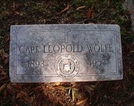WOLFE, CAPT, LEOPOLD - Caddo County, Louisiana | LEOPOLD WOLFE, CAPT - Louisiana Gravestone Photos
