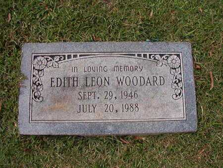 WOODARD, EDITH LEON - Caddo County, Louisiana | EDITH LEON WOODARD - Louisiana Gravestone Photos