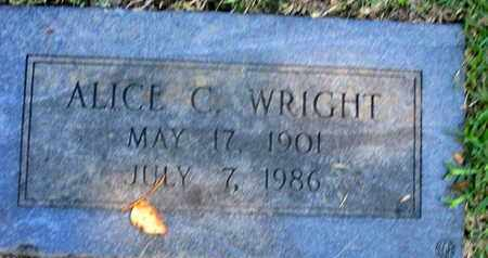 WRIGHT, ALICE - Caddo County, Louisiana | ALICE WRIGHT - Louisiana Gravestone Photos
