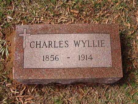 WYLLIE, CHARLES - Caddo County, Louisiana   CHARLES WYLLIE - Louisiana Gravestone Photos