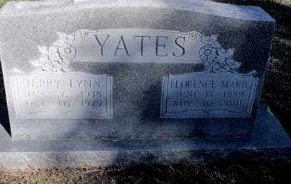 RODRIQUES YATES, FLORENCE MARIE - Caddo County, Louisiana | FLORENCE MARIE RODRIQUES YATES - Louisiana Gravestone Photos