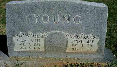 YOUNG, OSCAR ALLEN - Caddo County, Louisiana | OSCAR ALLEN YOUNG - Louisiana Gravestone Photos