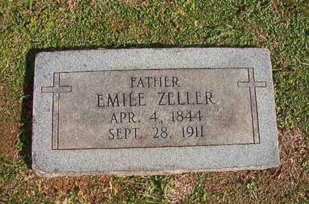 ZELLER, EMILE - Caddo County, Louisiana   EMILE ZELLER - Louisiana Gravestone Photos