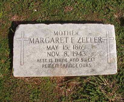 ZELLER, MARGARET F - Caddo County, Louisiana | MARGARET F ZELLER - Louisiana Gravestone Photos