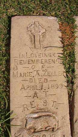 ZELLER, MARIE A - Caddo County, Louisiana | MARIE A ZELLER - Louisiana Gravestone Photos