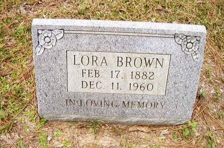 BROWN, LORA - Calcasieu County, Louisiana | LORA BROWN - Louisiana Gravestone Photos