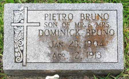 BRUNO, PIETRO - Calcasieu County, Louisiana | PIETRO BRUNO - Louisiana Gravestone Photos