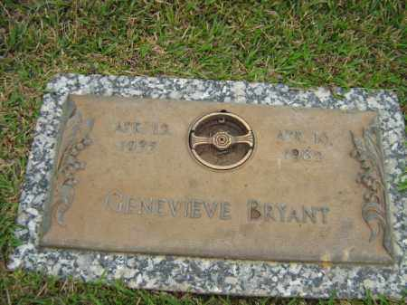 BRYANT, GENEVIEVE - Calcasieu County, Louisiana | GENEVIEVE BRYANT - Louisiana Gravestone Photos