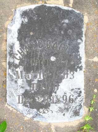 CAGLE, CHAS C - Calcasieu County, Louisiana   CHAS C CAGLE - Louisiana Gravestone Photos