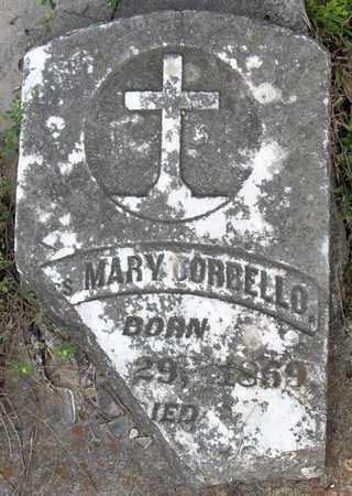 CORBELLO, MARY, MRS (CLOSEUP) - Calcasieu County, Louisiana | MARY, MRS (CLOSEUP) CORBELLO - Louisiana Gravestone Photos