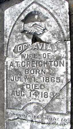 CREIGHTON, OCTAVIA - Calcasieu County, Louisiana | OCTAVIA CREIGHTON - Louisiana Gravestone Photos