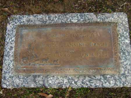 DAIGLE, JANICE JEANNINE - Calcasieu County, Louisiana   JANICE JEANNINE DAIGLE - Louisiana Gravestone Photos