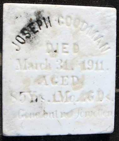 GOODMAN, JOSEPH (CLOSEUP) - Calcasieu County, Louisiana | JOSEPH (CLOSEUP) GOODMAN - Louisiana Gravestone Photos