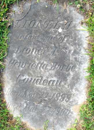 GOUDEAU, LIONEL A - Calcasieu County, Louisiana | LIONEL A GOUDEAU - Louisiana Gravestone Photos