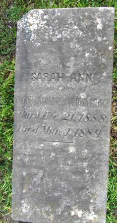 HAYMARK, SARAH ANN - Calcasieu County, Louisiana | SARAH ANN HAYMARK - Louisiana Gravestone Photos