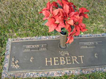 HEBERT, DELMAR J - Calcasieu County, Louisiana | DELMAR J HEBERT - Louisiana Gravestone Photos
