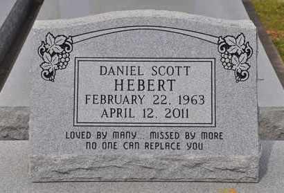 HEBERT, DANIEL SCOTT - Calcasieu County, Louisiana   DANIEL SCOTT HEBERT - Louisiana Gravestone Photos