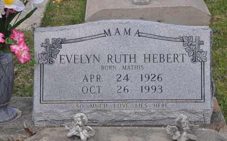 HEBERT, EVELYN RUTH - Calcasieu County, Louisiana   EVELYN RUTH HEBERT - Louisiana Gravestone Photos