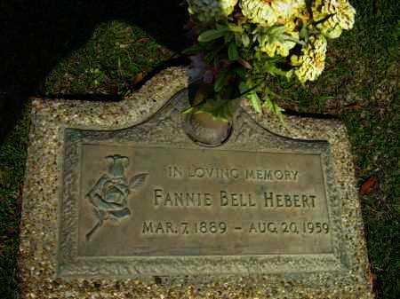 HEBERT, FANNIE BELL - Calcasieu County, Louisiana | FANNIE BELL HEBERT - Louisiana Gravestone Photos