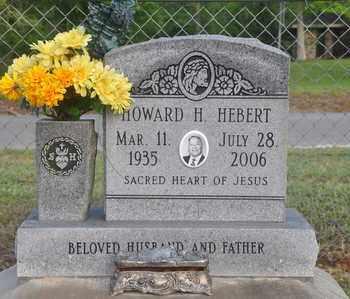 HEBERT, HOWARD H - Calcasieu County, Louisiana | HOWARD H HEBERT - Louisiana Gravestone Photos