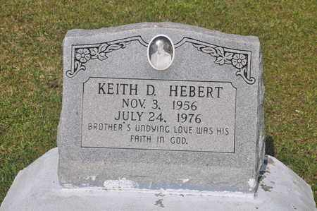 HEBERT, KEITH D - Calcasieu County, Louisiana | KEITH D HEBERT - Louisiana Gravestone Photos