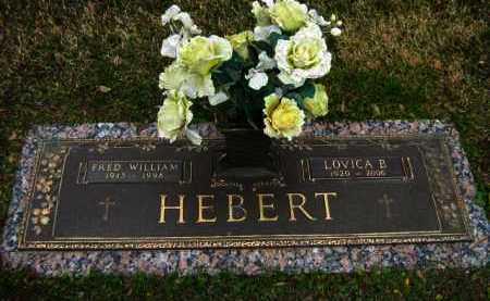 HEBERT, FRED WILLIAM - Calcasieu County, Louisiana | FRED WILLIAM HEBERT - Louisiana Gravestone Photos