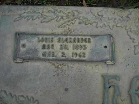 HEBERT, LOUIS ALEXANDER  (CLOSEUP) - Calcasieu County, Louisiana | LOUIS ALEXANDER  (CLOSEUP) HEBERT - Louisiana Gravestone Photos