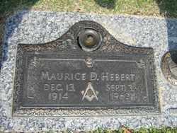 HEBERT, MAURICE D. - Calcasieu County, Louisiana   MAURICE D. HEBERT - Louisiana Gravestone Photos